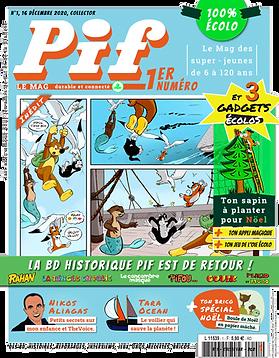 Pif le Mag - n°1 - Décembre 2020 version digitale
