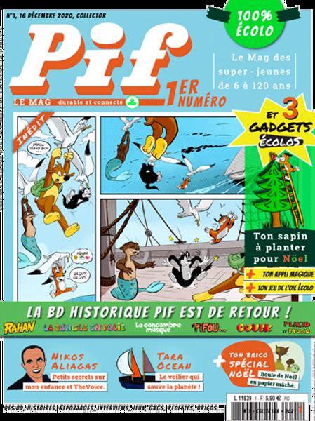 Pif le Mag - n°1 - Décembre 2020