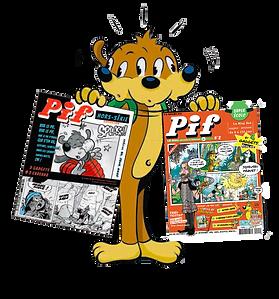 4 Pif le Mag (à compter du numéro 4) + 2 Hors série (à compter du #3-hiver 2022)