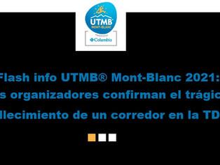"""""""La organización de la UTMB confirma el fallecimiento de un corredor de montaña checo"""""""