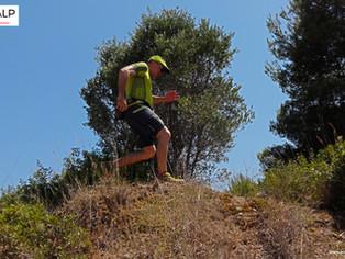 Trail Running con altas temperaturas. Material CimAlp