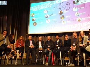"Mediastartups Barcelona - Mesa redonda ""Emprendedores vs Periodistas"""