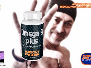 Beneficios de los ácidos grasos Omega 3 en los deportistas - Omega Plus de Megaplus