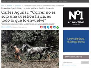 CMD Sport Running entrevista a Carles Aguilar
