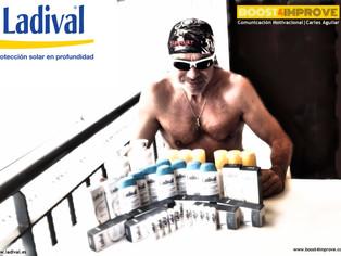 Un verano más confio en la gama de productos Ladival para pieles deportistas