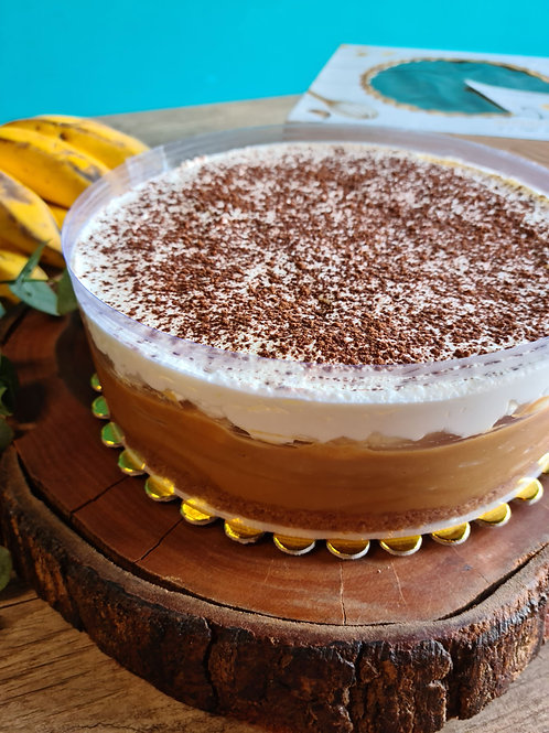 Torta Queridinha (Banoffee Pie)