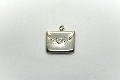 Sterling Silver Stamp Holder Locket