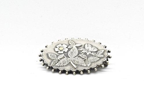 Victorian Silver Brooch
