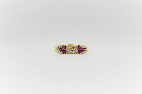 Ruby and Diamond Ring C.1900