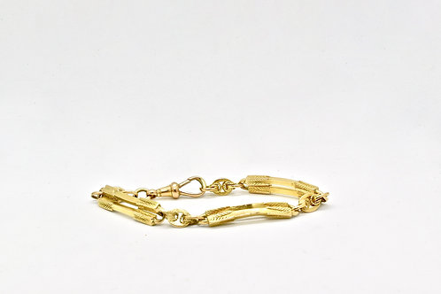 15ct Antique Gold Bracelet
