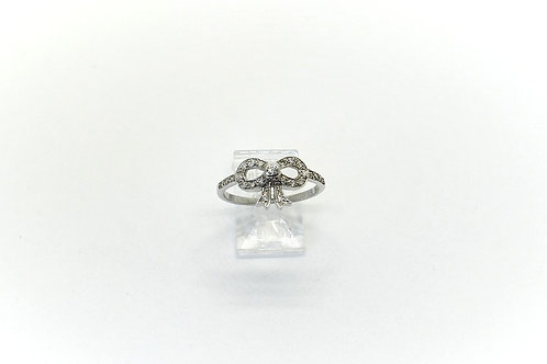 New Diamond Bow Ring