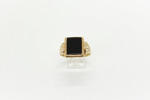 1960's Onyx Signet Ring