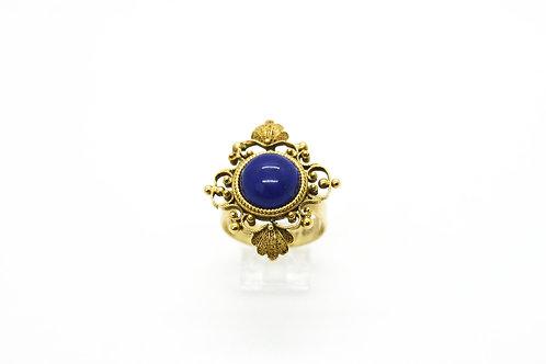 Ornate Lapis Conversion Ring