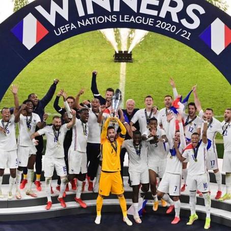 Francia remonta a España y conquista la Nations League
