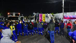 MUNICIPIO CERCANO Y CON SERVICIOS DE CALIDAD, PIDE LEO MONTAÑEZ AL PERSONAL OPERATIVO
