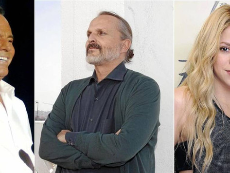 Shakira y Miguel Bosé aparecen en investigación