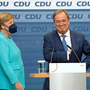 Perfilan empate entre partido de Angela Merkel y oposición