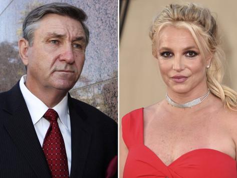 Jueza suspende al padre de Britney Spears de la tutela