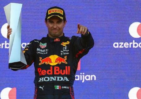 """""""Checo"""" Pérez está """"on fire"""" y en Red Bull alaban su trabajo en el GP de Estados Unidos"""