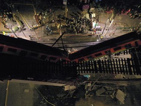 Claudia Sheinbaum pide esperar peritaje tras accidente en el Metro de la CDMX