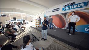 GOBERNADOR CONTIGO IMPULSA PROGRAMA COMUNITARIO PARA MEJORAR EL ENTORNO