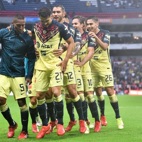 América vence a Santos y está cerca de asegurar la cima