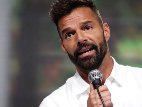 Ricky Martin, con ansiedad debido al COVID-19