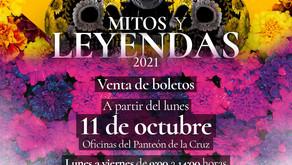 REGRESAN LOS RECORRIDOS DE MITOS Y LEYENDAS EN LOS PANTEONES DE LA CRUZ Y LOS ÁNGELES