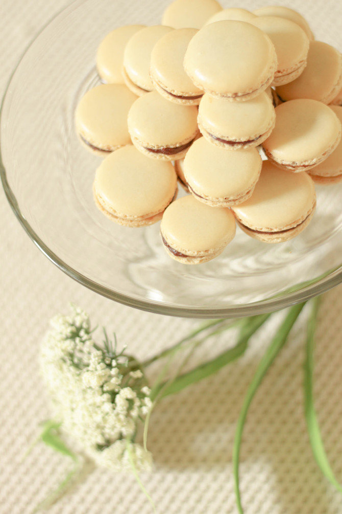 Foodie Files: French Macarons Filled With Chocolate Ganache