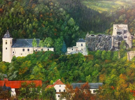 Kirche und Ruine Rehberg