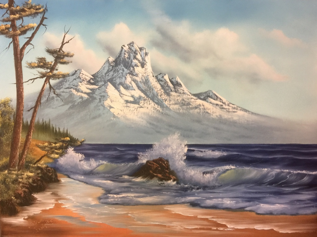 Mountain By The Sea