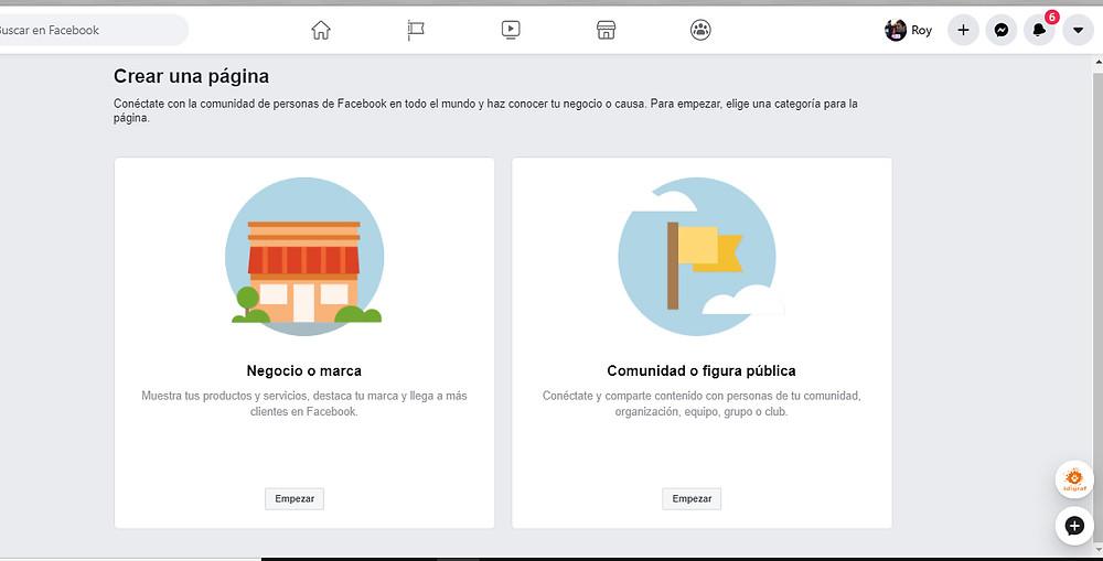 Cómo crear tu pagina de facebook para tu empresa