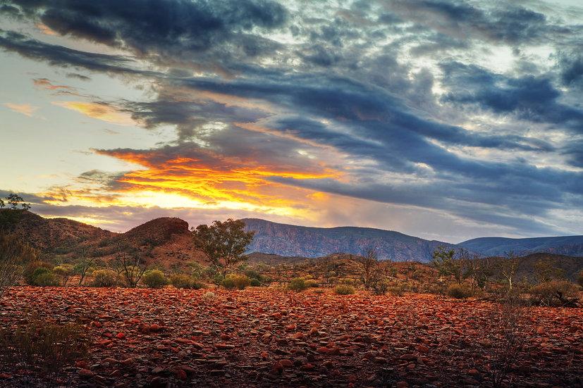 Gammon Ranges Sunset