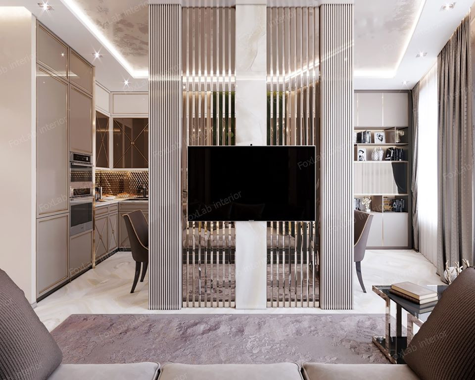 Дизайн проект небольшой квартиры  FoxLab interior. IDEALIST