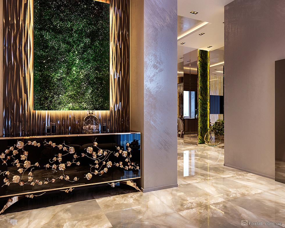 Дизайн интерьера большого дома в Днепре