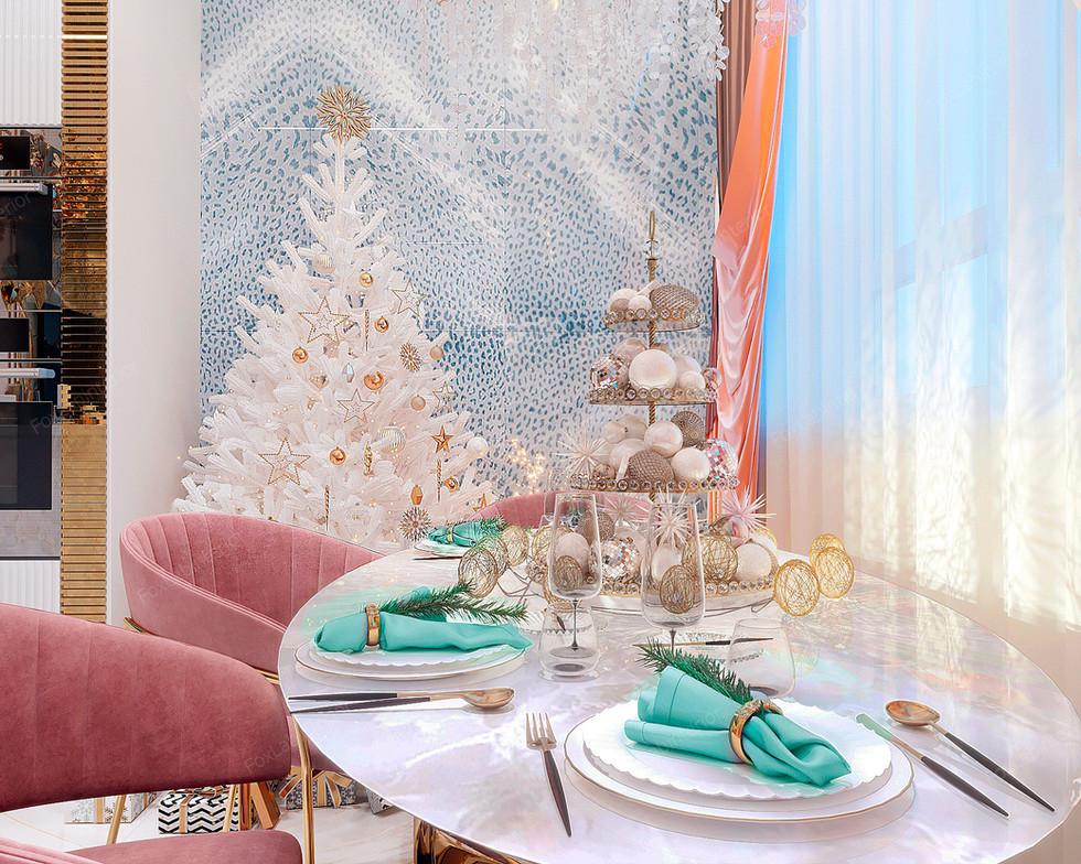 CHRISTMAS MAGIC. Дизайн проект квартиры
