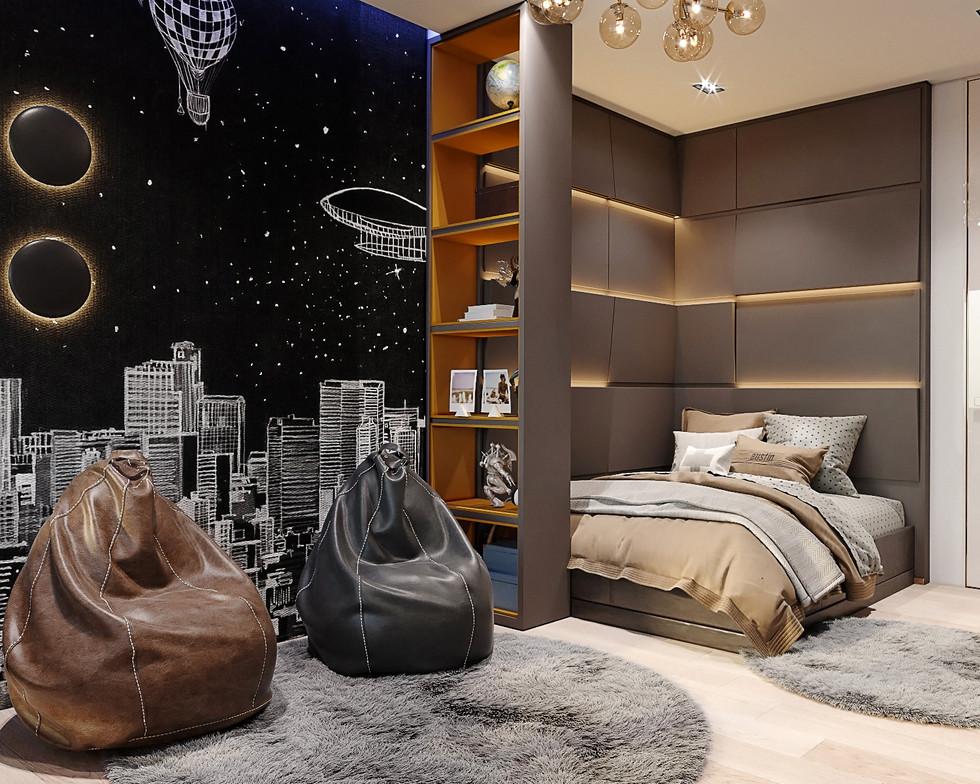 Дизайн интерьера квартиры в BusovHill
