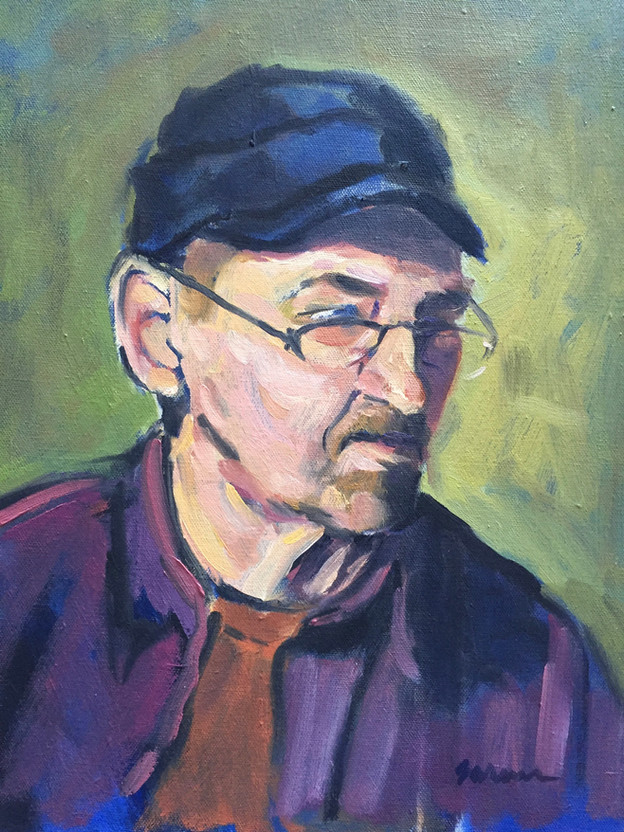 Man in Black Cap
