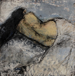 Reclining Woman with Blue Blanket