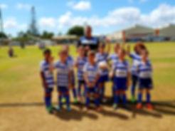 Alloway FC Under 8's, 2018