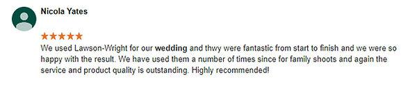 wedding photographer review 3