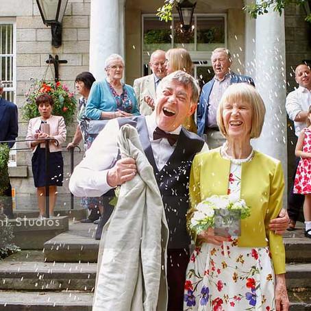Clive & Diane's Wedding At Bilton House In Harrogate