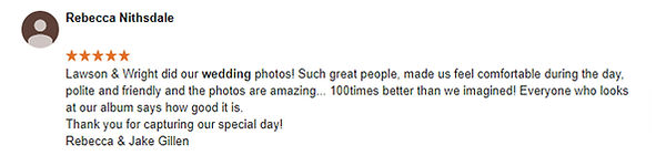 wedding photographer review 2