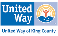 United Way of King County logo sponsor donor