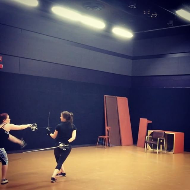 Fight Choreography For Stage