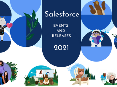 Upcoming Salesforce Events and Releases-2021