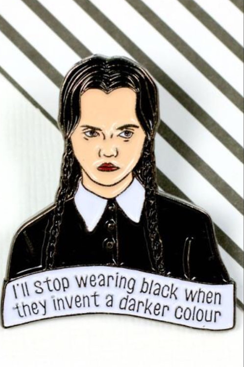 Pin Collection: Wednesday Adams