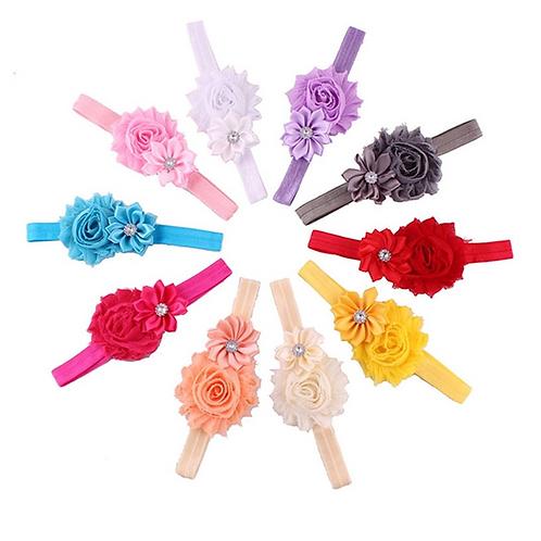 The Lottie Baby Flower Head Band
