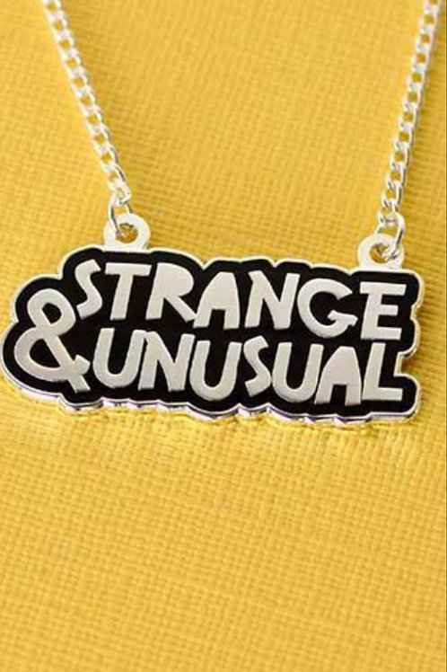 Strange and Unusual Necklace