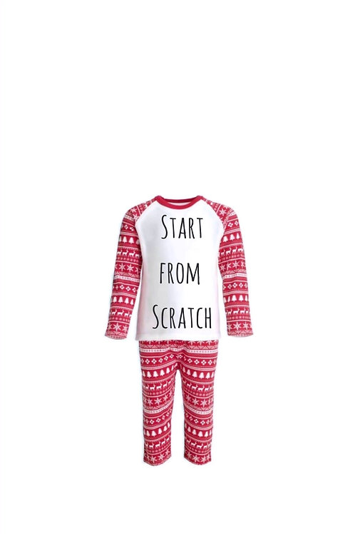 Start from Scratch Family Christmas PJ'S